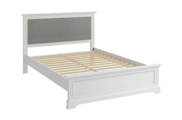 Polar White 135cm Double Bedstead