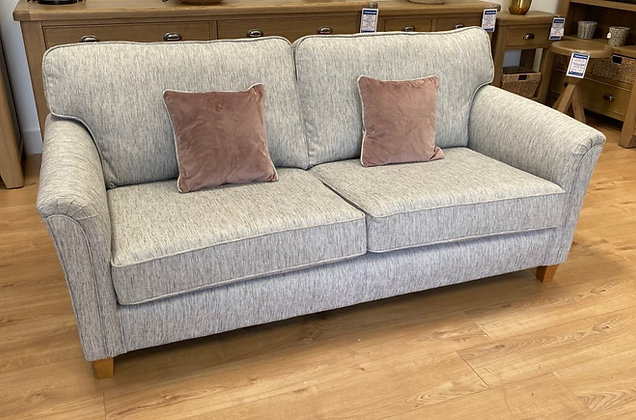 Harmen 3 Seater Sofa – Silver