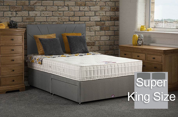 Elsa Super King Size Divan Bed