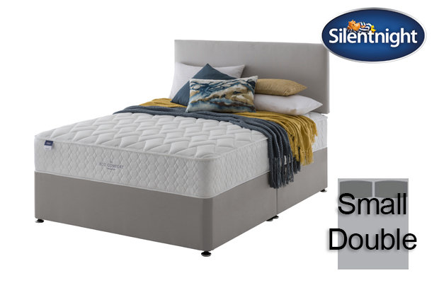 Silentnight Miracoil Sage Eco Comfort Small Double Divan Bed