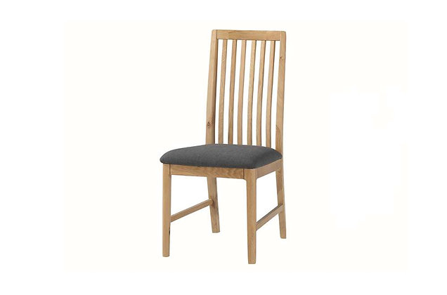 Demure Oak Dining Chair