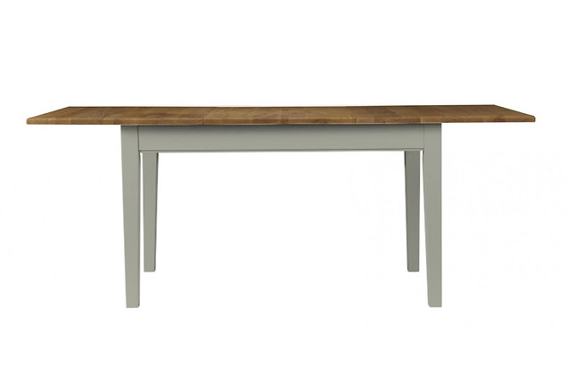 Somerdale Extending Dining Table – Rockford Grey with Natural Top