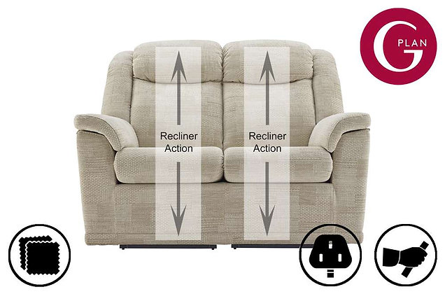 G Plan Milton 2 Seater Recliner Sofa