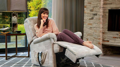 Sherborne Nevada Small Fabric Lift and Rise Recliner Chair