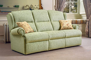 Sherborne Claremont 3 Seater Fabric Sofa