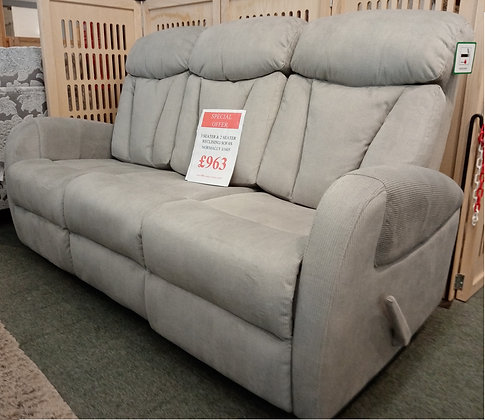 Phoebe 3 Seater and 2 Seater Recliner Sofas