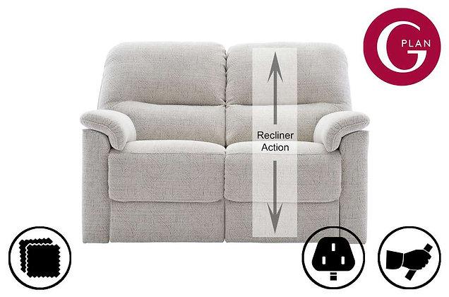 G Plan Chadwick 2 Seater RHF Single Recliner Sofa
