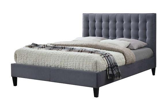 Becky 135cm Double Bedstead - Grey