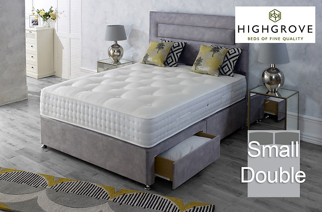 Highgrove Hartwell Ortho Small Double Divan Bed