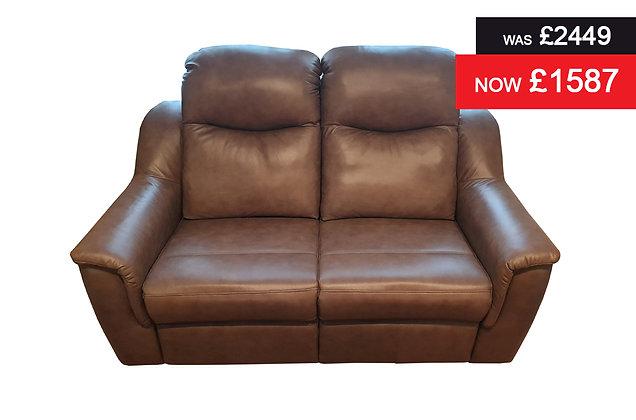 G Plan Firth 2 Seater Sofa - Regent Mink Hide