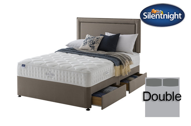 Silentnight Miracoil Aqua Geltex Double Divan Bed