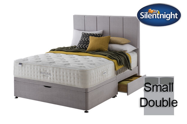 Silentnight Mirapocket Luxuriant Natural 1400 Small Double Divan Bed