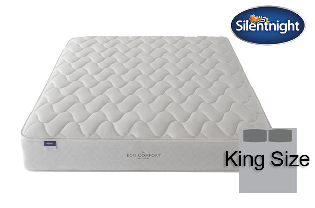 Silentnight Miracoil Sage Eco Comfort King Size Mattress