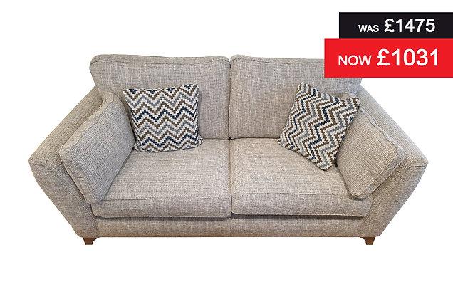 Sicily 3 Seater Sofa - Marble Plain
