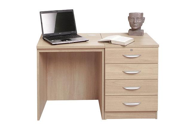 Set 5 – Desk with 4 Drawer Unit