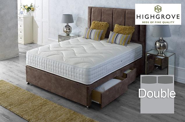 Highgrove Ambassador 1000 Double Divan Bed