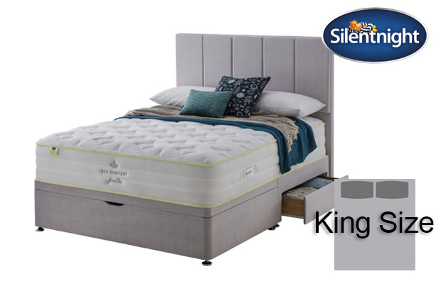 Silentnight Mirapocket Eco Comfort Breath 2000 Medium / Firm King Size Divan Bed