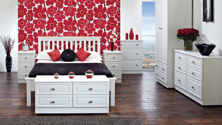 Clifton White Bedroom Furniture - Wardrobes, Chest of Drawers, Bedside Cabinets, Dressing Tables, Dressing Stools & Bedroom Mirrors | Gordon Busbridge Furniture | Hastings, Eastbourne, Seaford & Bexhill