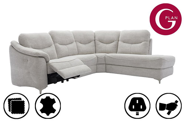 G Plan Jackson RHF Chaise Corner Recliner Sofa