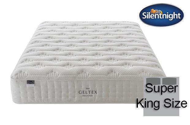 Silentnight Mirapocket Sublime Geltex 2000 Super King Size Mattress