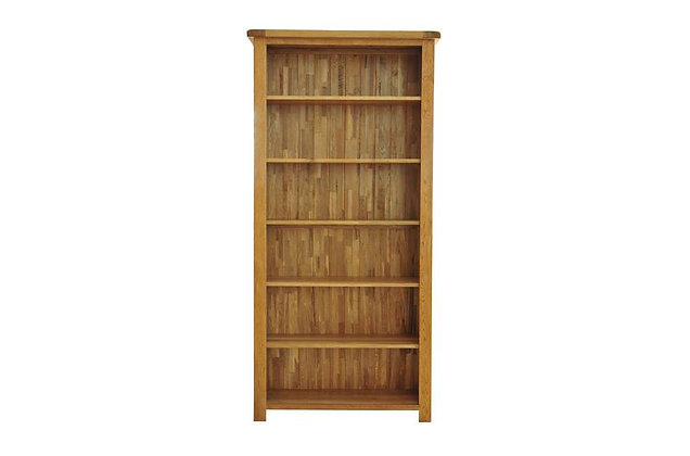 Rustic Charm 6ft Bookcase