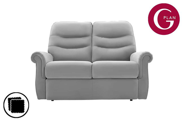 G Plan Holmes Leather 2 Seater Sofa