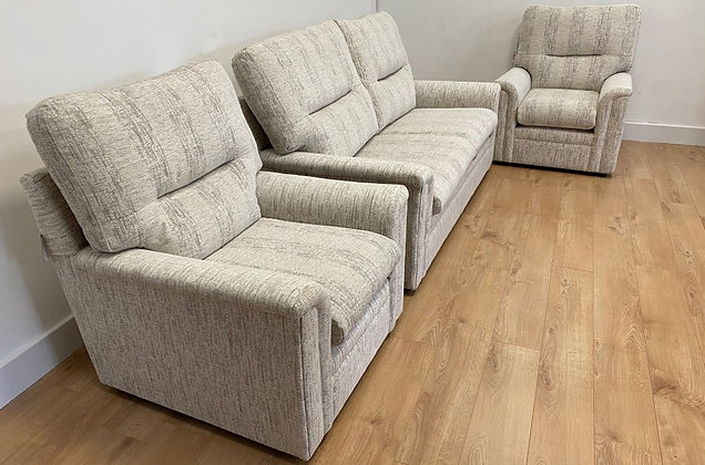 Sicily 3 Seater Sofa & Two Armchairs