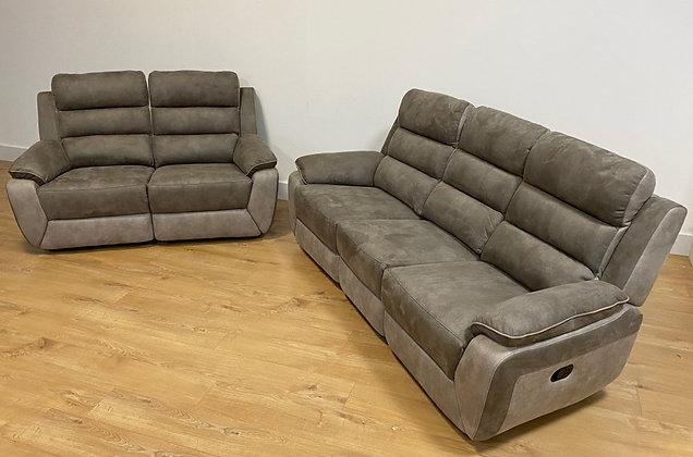 Urban 3 Seater Recliner Sofa & 2 Seater Recliner Sofa
