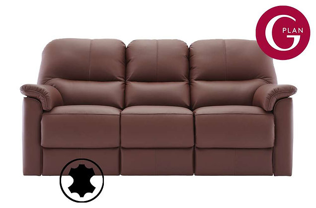 G Plan Chadwick Leather 3 Seater Sofa