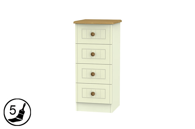 Solent 4 Drawer Locker Chest