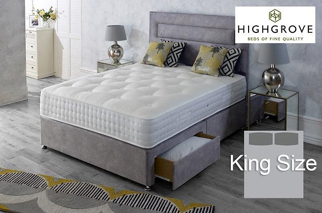 Highgrove Hartwell Ortho King Size Divan Bed
