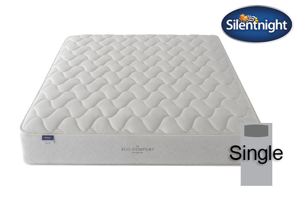 Silentnight Miracoil Sage Eco Comfort Single Mattress