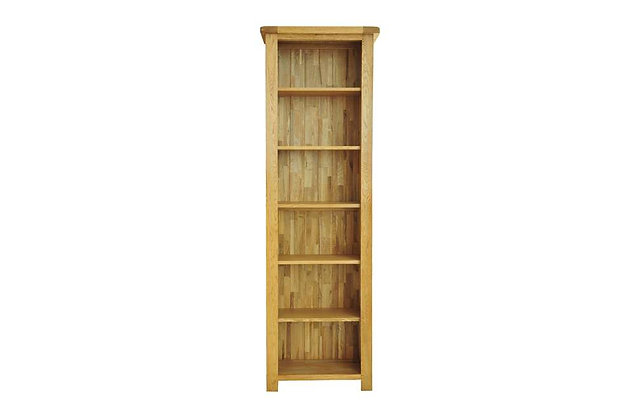 Rustic Charm 6ft Narrow Bookcase