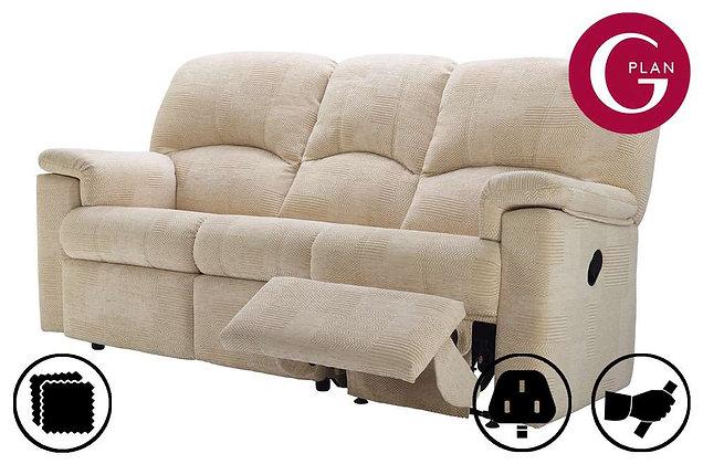 G Plan Chloe 3 Seater Right Hand Facing Single Recliner Sofa