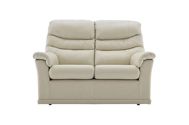 G Plan Malvern Leather 2 Seater Sofa