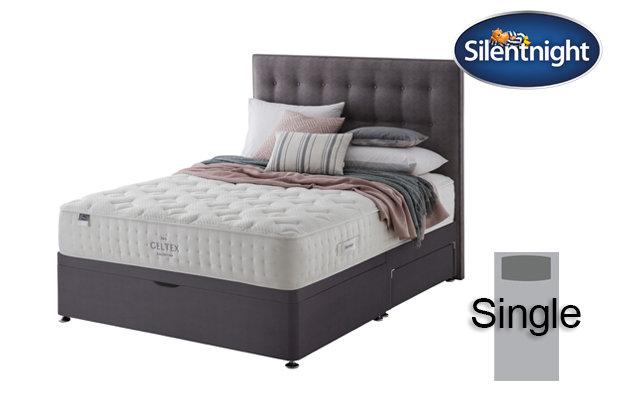 Silentnight Mirapocket Pastel Geltex 1000 Single Divan Bed