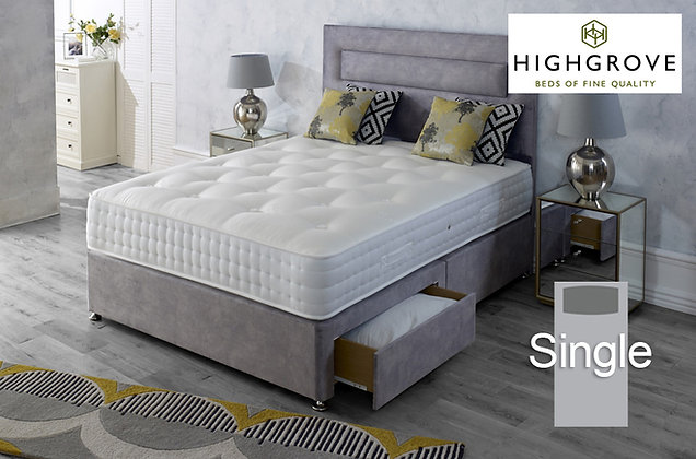 Highgrove Hartwell Ortho Single Divan Bed