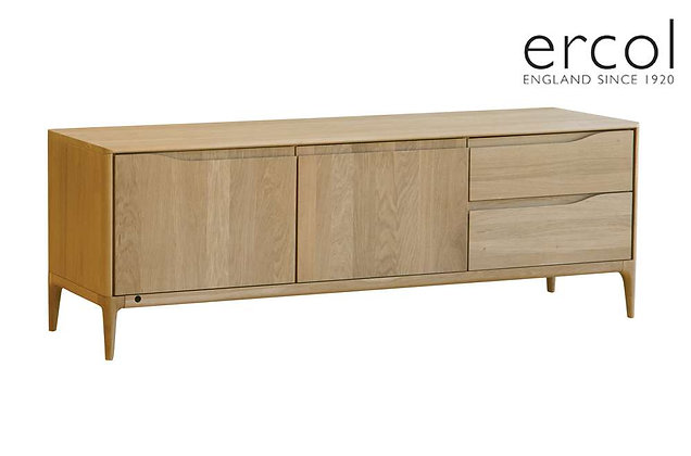 Ercol Romana Wide TV Unit with Built in IR