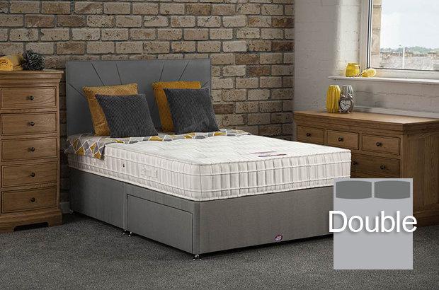 Elsa Double Divan Bed