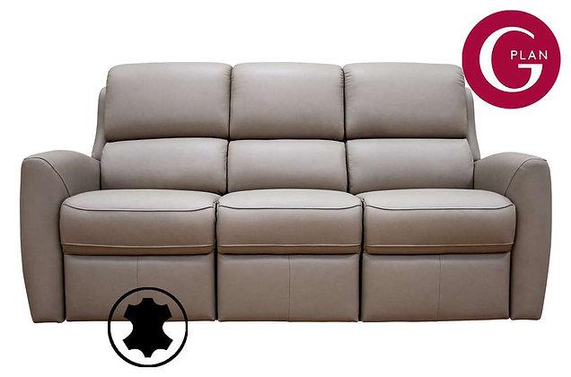 G Plan Hamilton Leather 3 Seater Sofa