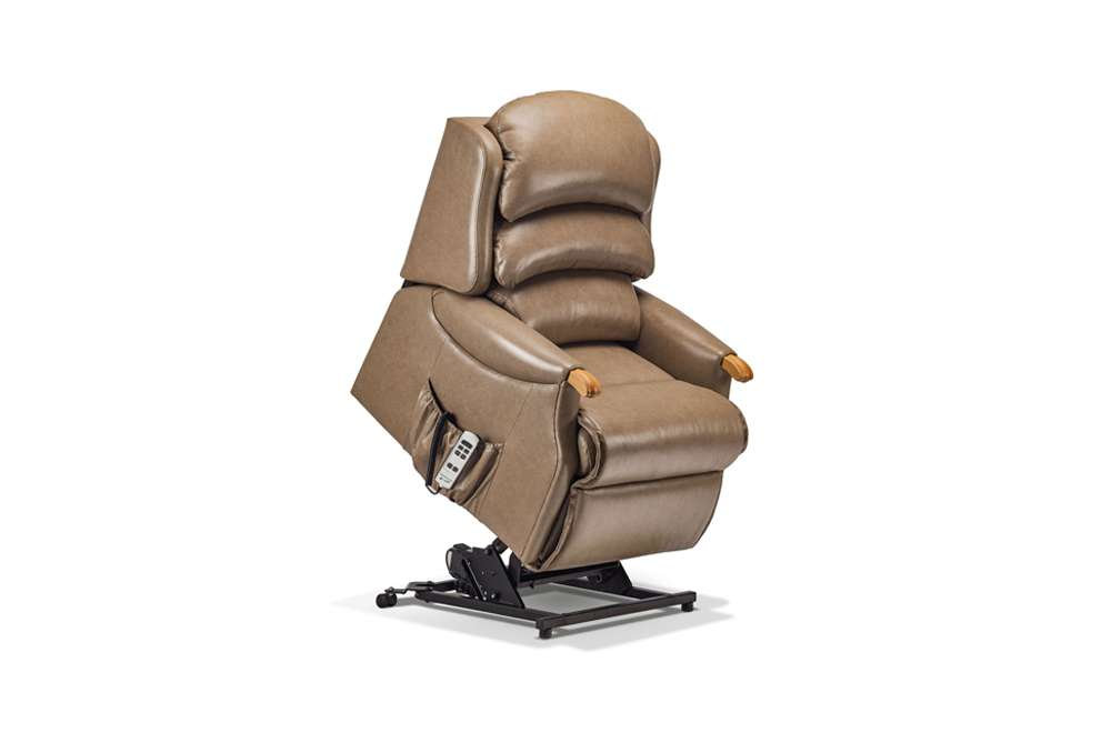 Cool Sherborne Malham Leather Petite Lift Rise Care Recliner Creativecarmelina Interior Chair Design Creativecarmelinacom