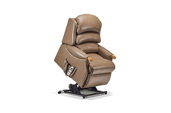 Sherborne Malham Leather Petite Lift & Rise Care Recliner Chair