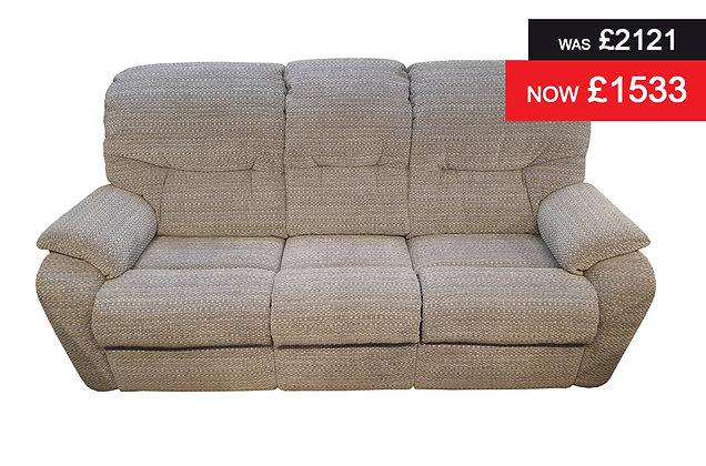 G Plan Mistral 3 Seater Sofa - Hopsack Grey