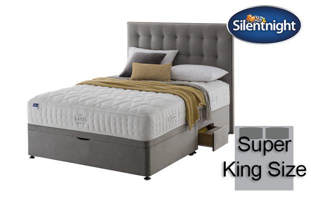 Silentnight Miracoil Arella Latex Super King Size Divan Bed