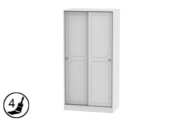 Clifton Sliding 2 Door Wardrobe