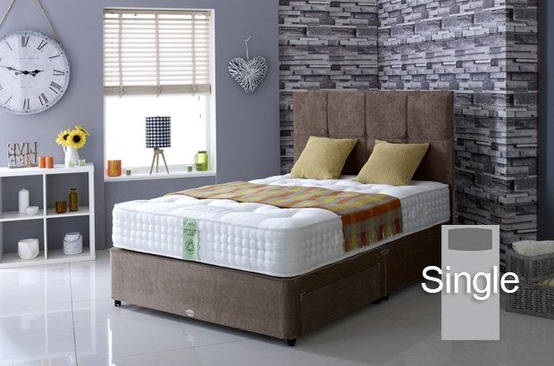 Ultimate Natural 2000 Single Divan Bed