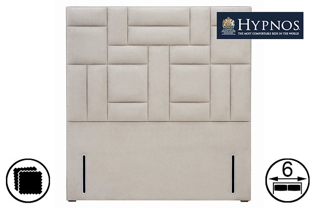 Hypnos Charlotte Tall Euro-Slim/Wide Headboard