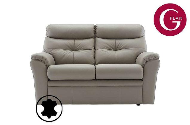 G Plan Newton Leather 2 Seater Sofa