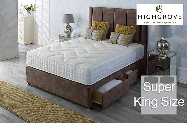 Highgrove Ambassador 1000 Super King Size Divan Bed
