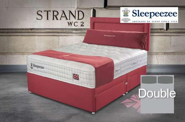 Sleepeezee Perfectly British Strand 1400 Double Divan Bed